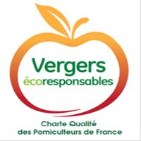 Nouveau logo : Les vergers écoresponsables