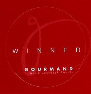 Gourmand World Cookbook Awards !