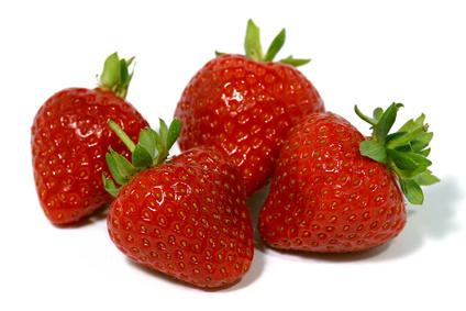 Des fraises contre le cancer de l'oesophage