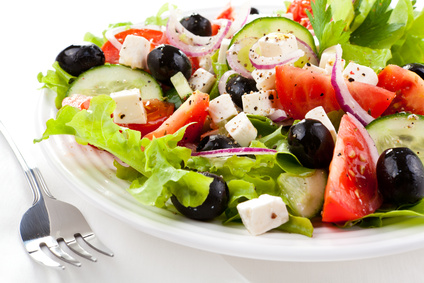La salade est délicieuse ; mangez-en !