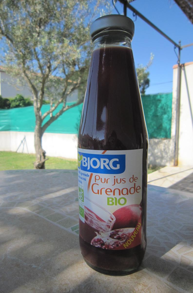 Pur jus de Grenade BIO Carrefour
