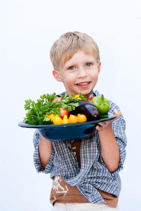 Les enfants aiment les fruits et les légumes !