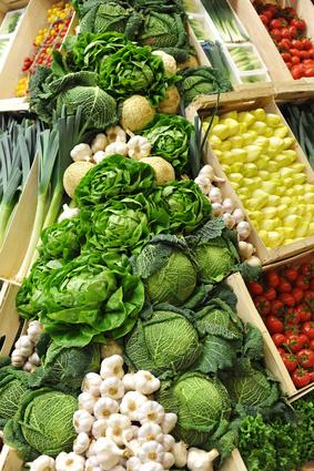 Légumes verts agissent pour le système immunitaire