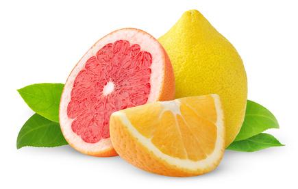 Oranges et Pamplemousses conseillés !
