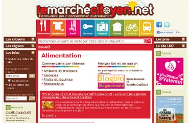 LeMarcheCitoyen.net : un site à connaître !