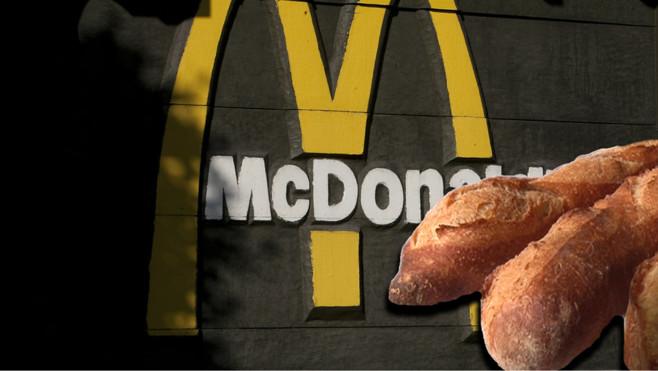 La baguette arrive au MacDo !