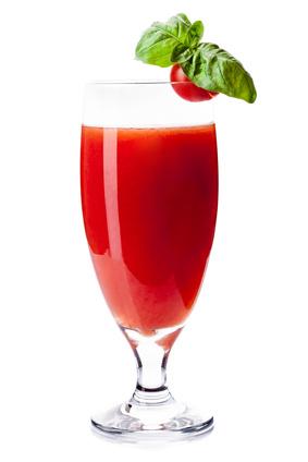 Du jus de tomate contre l'alcool